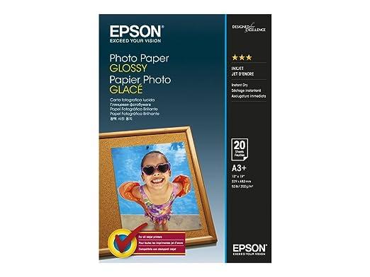 Opinioni per epson carta fotografica glossy a3 20 fogli for Carta fotografica epson