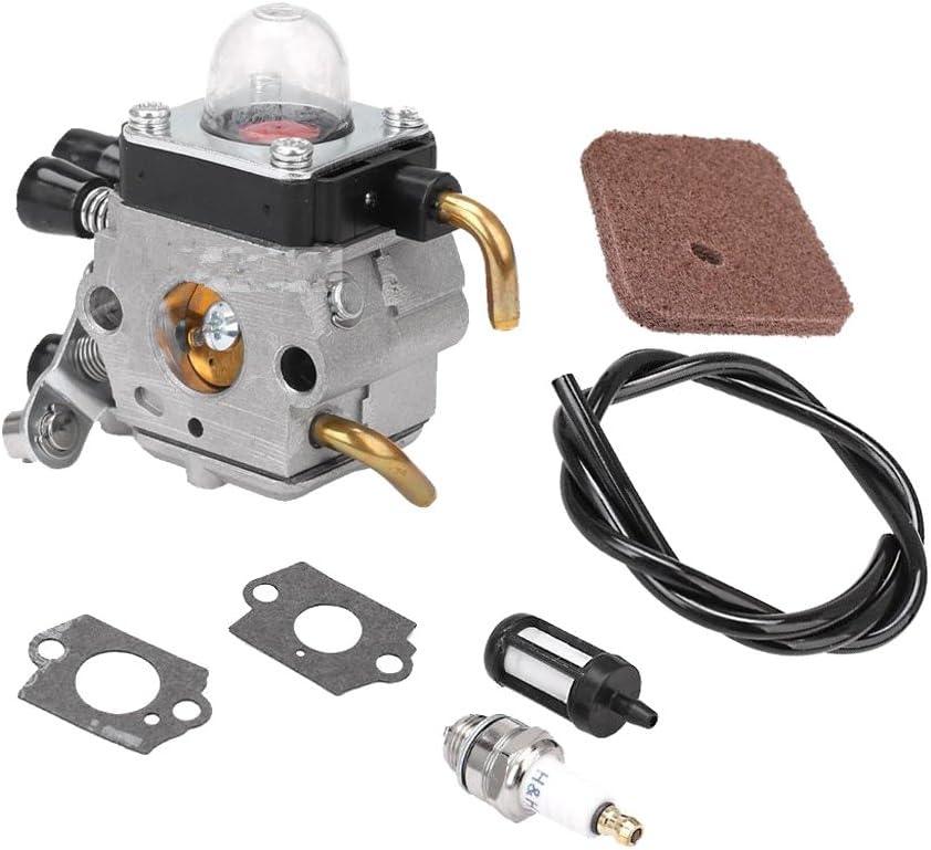 Carburetor Kit for STIHL FS38 FS45 FS46 FS55 FS74 FS75 FS76 FS80 FS85 ZAMA C1Q-S66 C1Q-S71 C1Q-S97 A C1Q-S143 C1Q-S153 C1Q-S186 C1Q-S186A C1Q-S186B