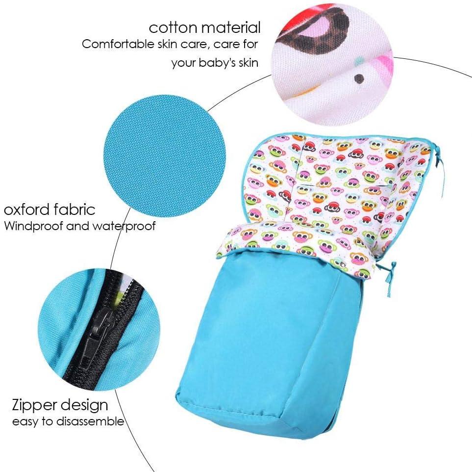 Kids Winter sacco esterno antivento antipioggia antifreddo di pelo caldo Addensato universale