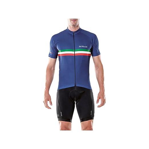 Image Unavailable. Image not available for. Color  De Marchi PT Jersey -  Short-Sleeve - Men s Royal ... e5ec48042