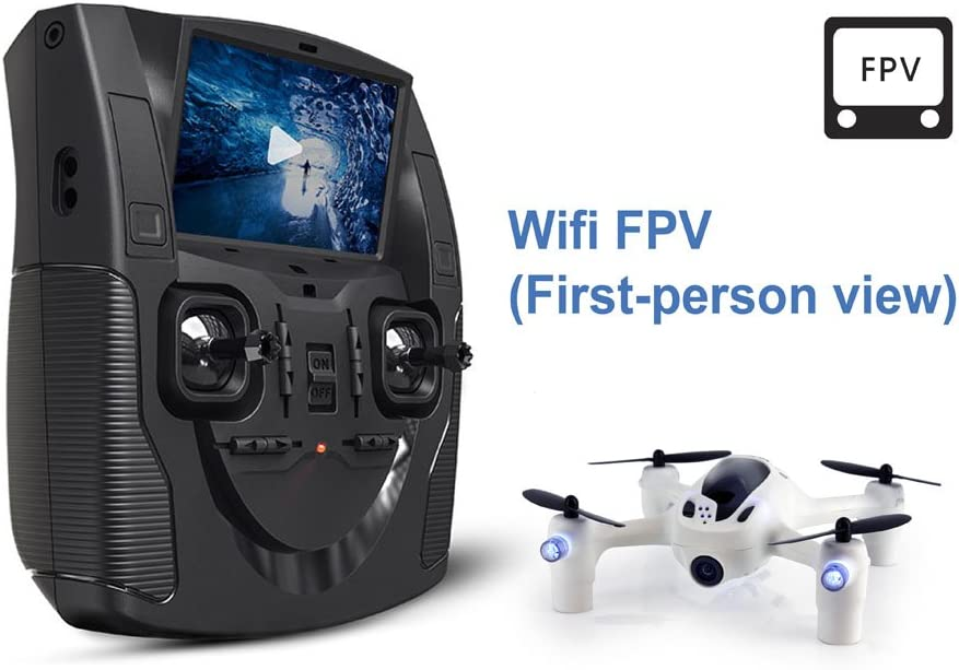 """Hubsan H107D+ FPV X4 Plus RTF Quadcopter with 720p HD Camera, Includes Controller with 4.3\"""" LCD 51WlWrcb5OL"""