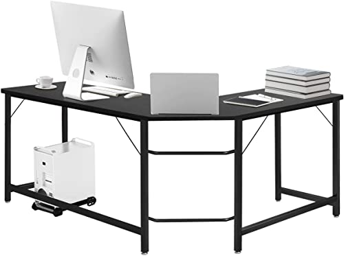 Tangkula L-Shaped Corner Computer Desk