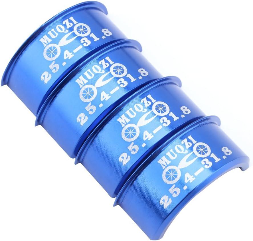 magideal 4/Aluminium Legierung Fahrrad Lenker Distanzh/ülse 25,4/mm bis 31,8/mm Reducer Vorbau Adapter
