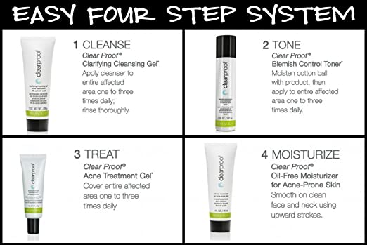 Amazon Com Mary Kay Clear Proof Acne System Set To Go Trial Size