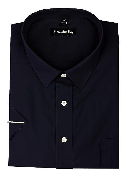 on sale 2eea5 daeb7 Camicia da uomo formale a maniche corte, 7 colori tinta ...