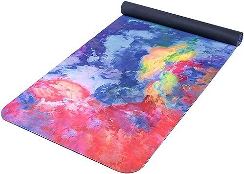 Folding Gymnastics Exercise Mat Yoga Mat,Core Balance Foam Yoga Exercise Mat Extra Thick High Density,for Pilates/Exercise/Gymnastics/Fitness (Color : A)