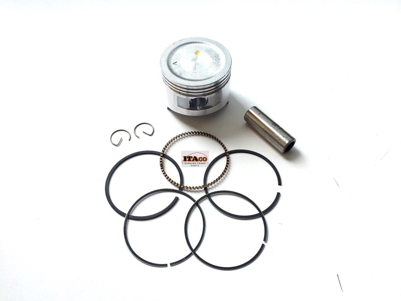 Piston Assy Kit Ring Set fit Honda GX160 GXV160 5.5HP GX200 6.5HP Rings Engine size 68MM ITACO 00407