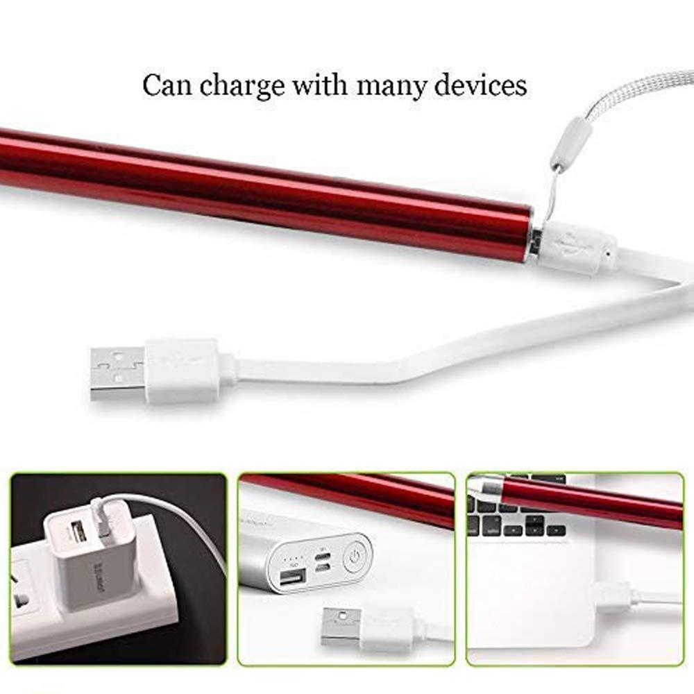 Rot Ohrreiniger Led-Blitzbeleuchtung Earpick mit USB-Ladefunktion Ohrschmalzentferner Gesundheit Ohrenschmalz Entferner f/ür die Babypflege f/ür Jungen M/ädchen Kinder Erwachsene /Ältere
