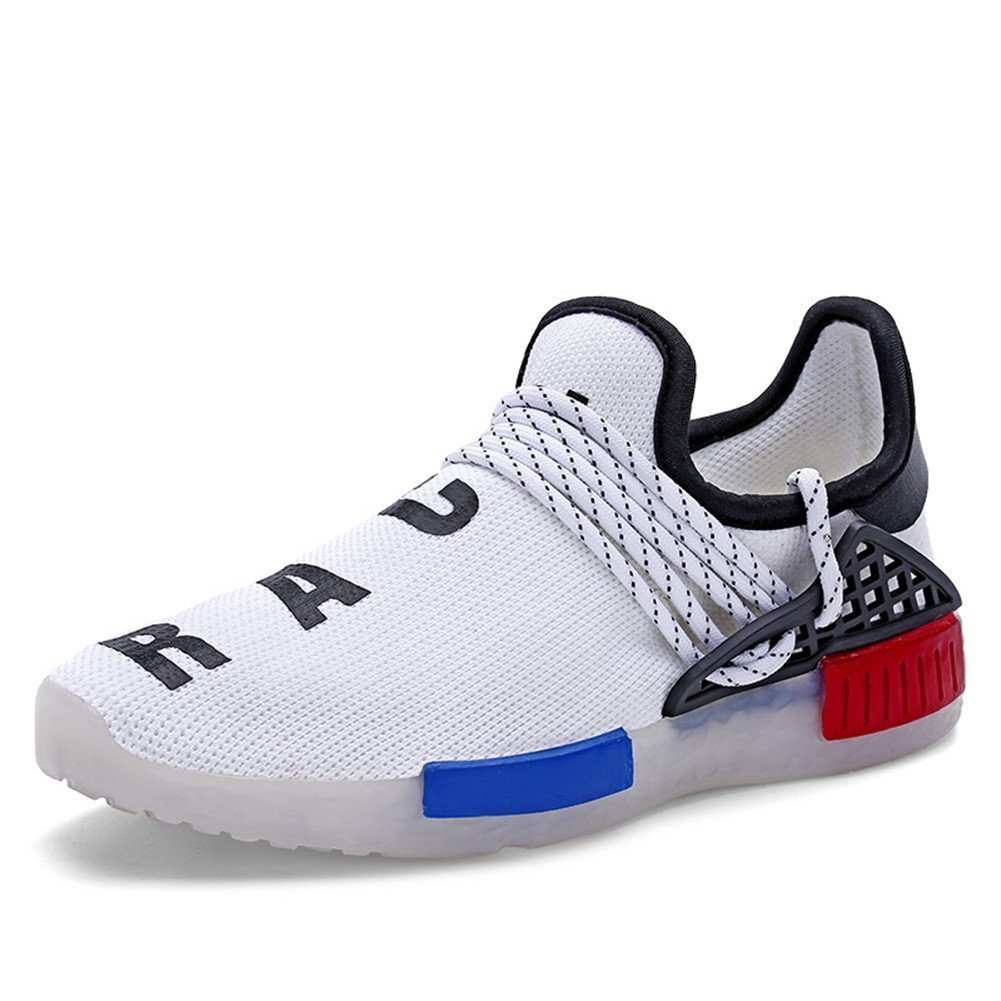 LED Light Up Shoes Men Fashion High Top Lighted Up Glowing Shoes Unisex Male Casual B07B3ZGRN8 41/10 B(M) US Women / 7.5 D(M) US Men|White