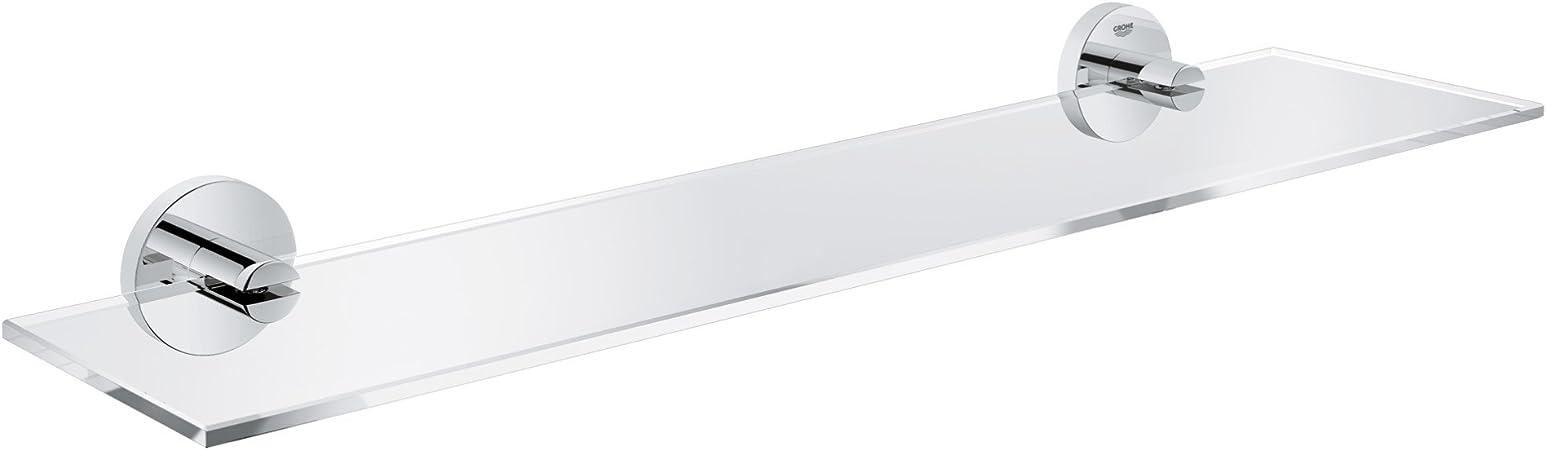 Grohe 40799001 Essentials Shelf 380mm Starlight Chrome
