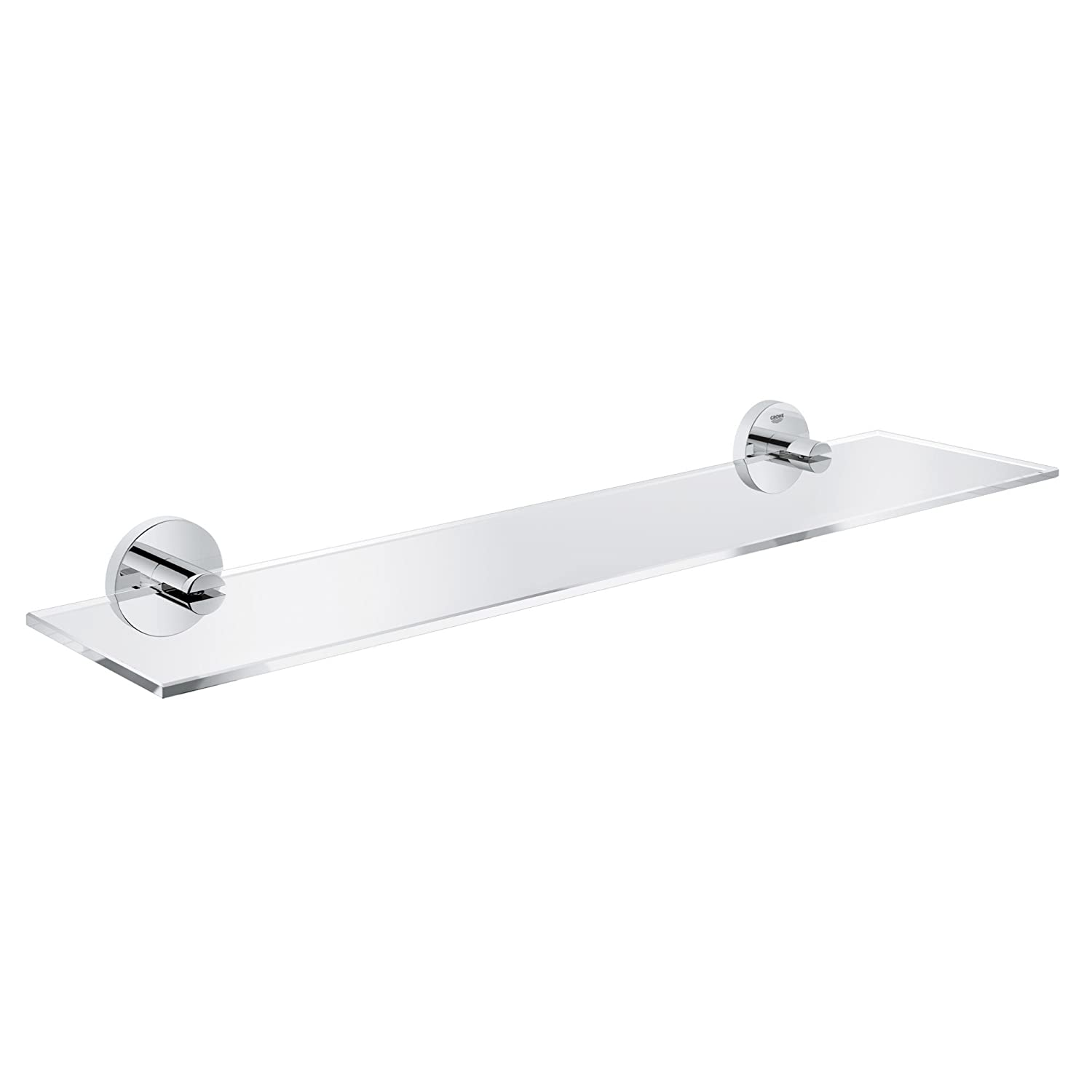 GROHE 40799001 Essentials Shelf 380mm, Starlight Chrome
