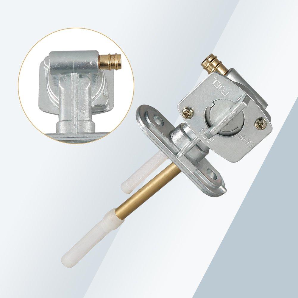 Essence Petcock 1986-2004 de pompe de commutateur de valve de robinet dessence de carburant pour KLF300
