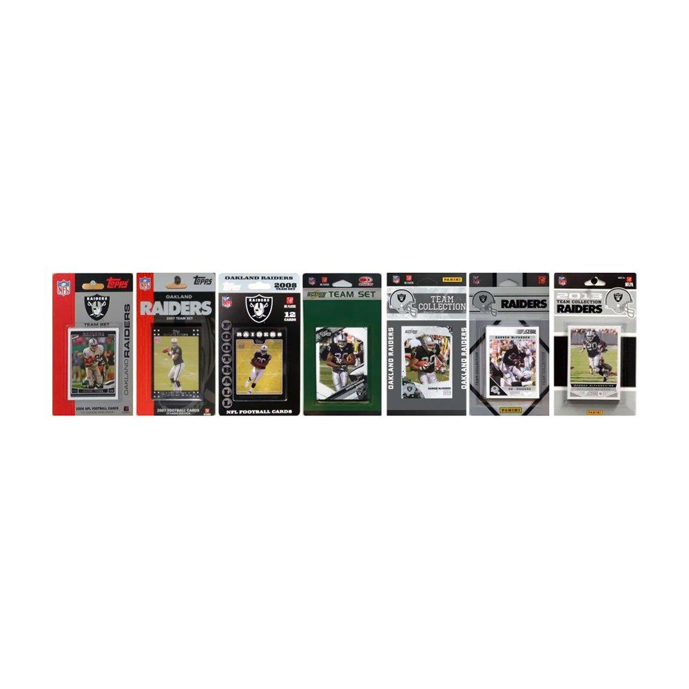 新品 NFL Raiders Oakland Raiders B00DU163GQ 7異なるLicensed 7異なるLicensed Tradingカードチームセット B00DU163GQ, TOOL-GYM:3d150f30 --- arianechie.dominiotemporario.com