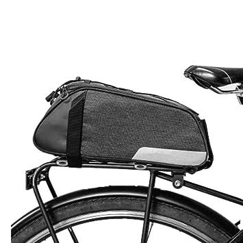 Bolsa de maletero para bicicletas, gran capacidad, bicicleta ...