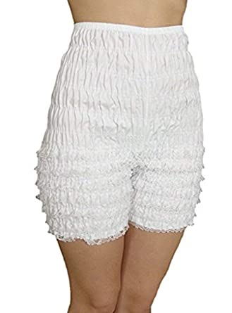 6596967c3af Malco Modes Womens Ruffle Panties Bloomers Dance Bloomers for Sissy  Victorian (X-Small