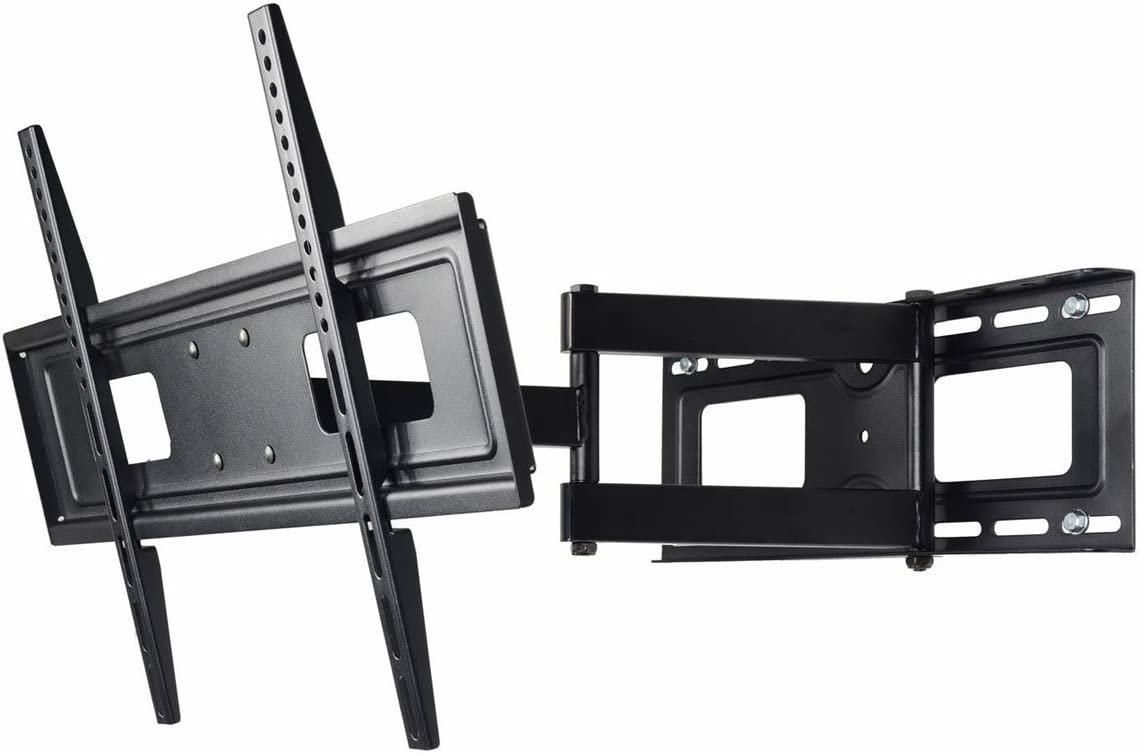 VideoSecu Mount Articulating TV Wall Mount for Most 32 37 39 40 42 46 47 50 52 55 58 60 62 63 65 LCD LED Plasma Flat Panel TV with VESA from 200×100 to 400×400, 600x400mm MW365BBM7 BM7