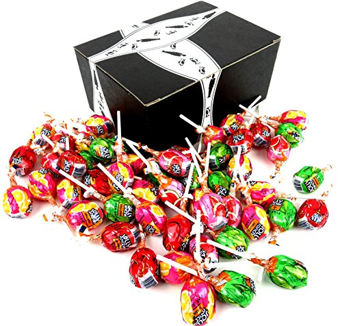 Jolly Rancher Assorted Lollipops, 0.6 oz Lollipops in a Blac