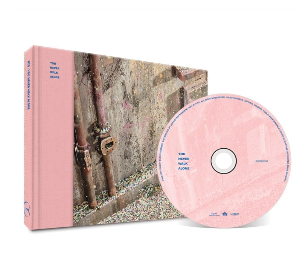 CD : BTS - You Never Walk Alone (Random Cover) (Asia - Import)