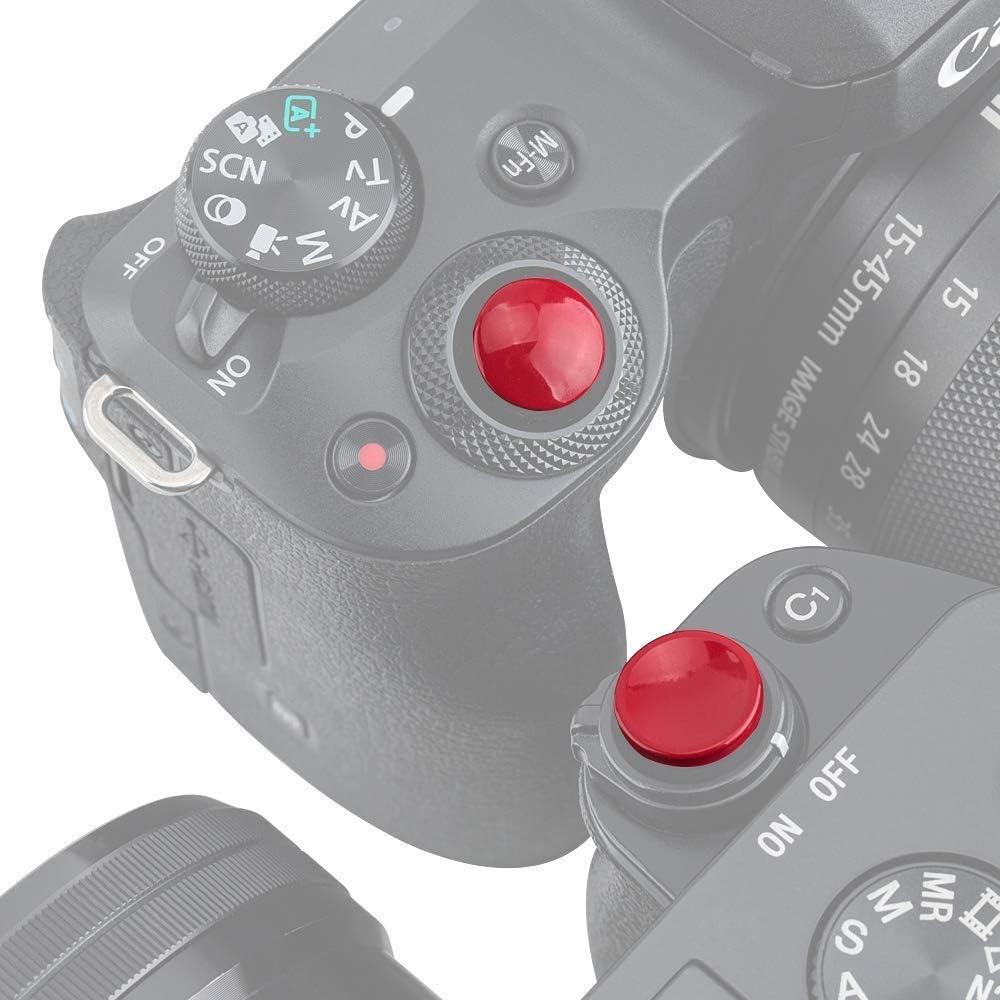 Profezzion Metall Auslöseknopf Für Sony A6500 A6400 Kamera