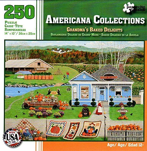 Americana Collections Grandma's Baked Delights 250 Piece Puzzle by Papercity Puzzles