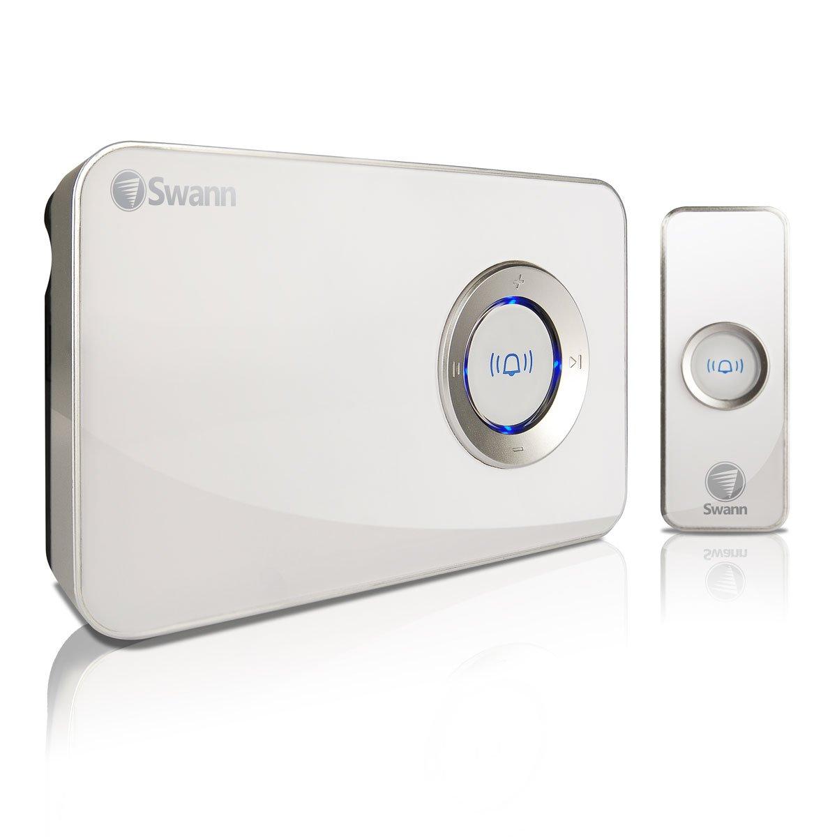 The Swann MP3 DJ Doorbell - Music Doorbell. Wireless Door Chime System; You Deci SWHOM-DC840B-CA