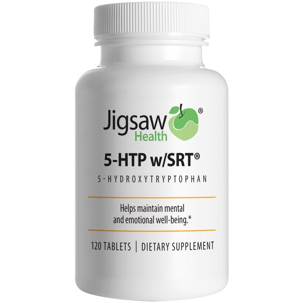 Jigsaw Health 5-HTP Capsules, 100 mg, 120 Count
