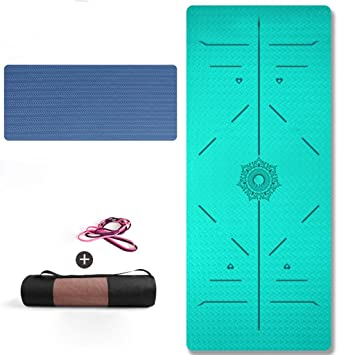 LXfei Estera De Yoga Gruesa Tapete De Yoga para ...