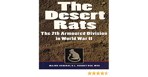 Desert Rats DR A Great Gift 7th Armoured Division Key Ring