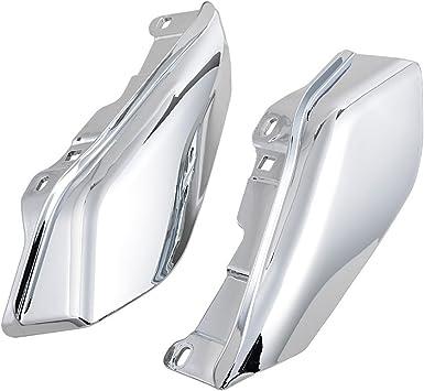 XMT-MOTO Chrome Mid-Frame Air Deflector fits for Harley-Davidson Touring and Trike Models FLHTKL and FLHTCUTG Models 2009-2016 FLTRU Original Equipment on FLHTCU FLHTK FLHTCUL