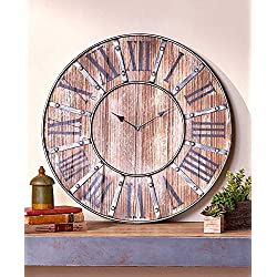The Lakeside Collection Rustic Farmhouse Clock