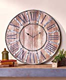 Cheap The Lakeside Collection Rustic Farmhouse Clock