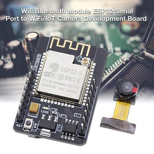 Maliyaw Tarjeta de Desarrollo módulo cámara ESP32-CAM WiFi + ...