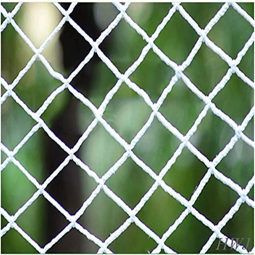 AEINNE Red De Segurida, Valla De Protección Seguridad Infantil Carga Maletero Escalada, para Protectora Redes JardíN Jardines Terrazas Puertas Ventanas Contenedores Remolque Equipaje 10cm 6mm 4