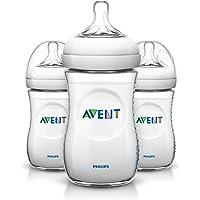 Philips Avent Natural baby bottle SCF693/37 3 Bottles 9oz/260ml