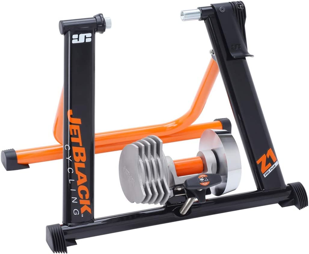 Jet Black Z1 Pro Fluid Trainer
