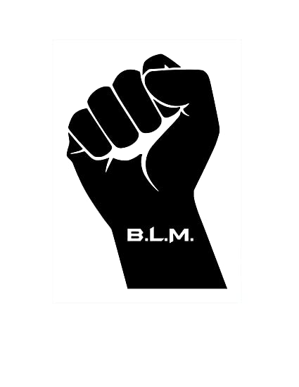 Amazon com: 32 & Willys BLM w/Fist PREMIUM Decal 5