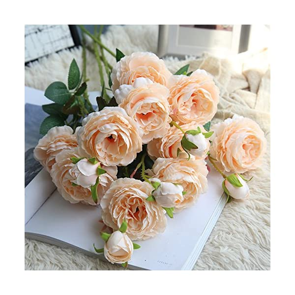 RmBaby-1Pcs-Artificial-Fake-Flowers-Rose-Peony-Floral-Real-Touch-Cloth-Material-Arrangement-Bouquets-Bridal-Hydrangea-Home-Garden-Decor-Room-Office-Centerpiece-Party-Wedding-Decor