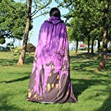 WOCACHI Vanlentine Day Halloween Costume Hooded