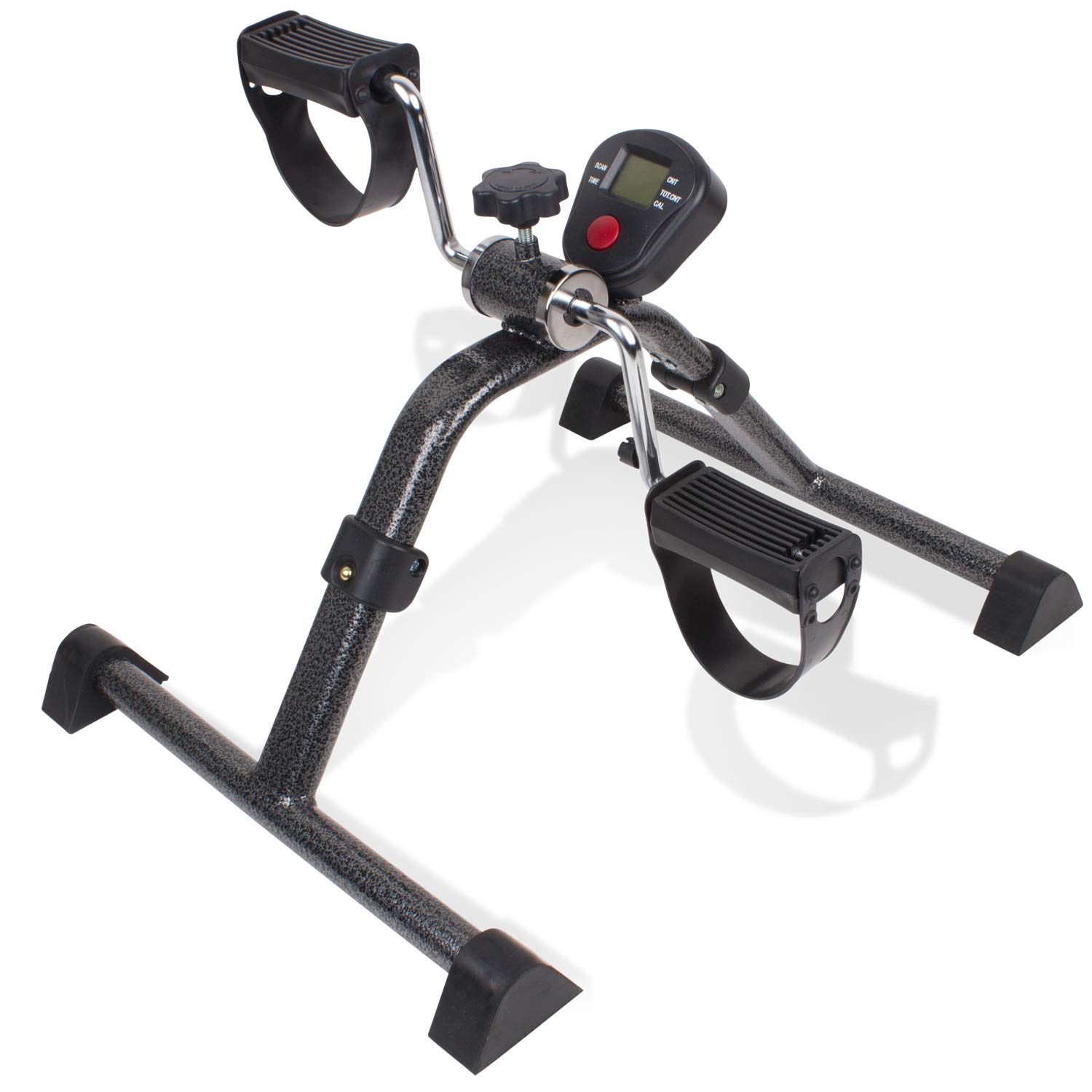 Carex Foldable Under Desk Exercise Bike - Desk Bike with Digital Display for Arms and Legs - Great for Elderly, Seniors, Disabled or Office Use by Carex Health Brands