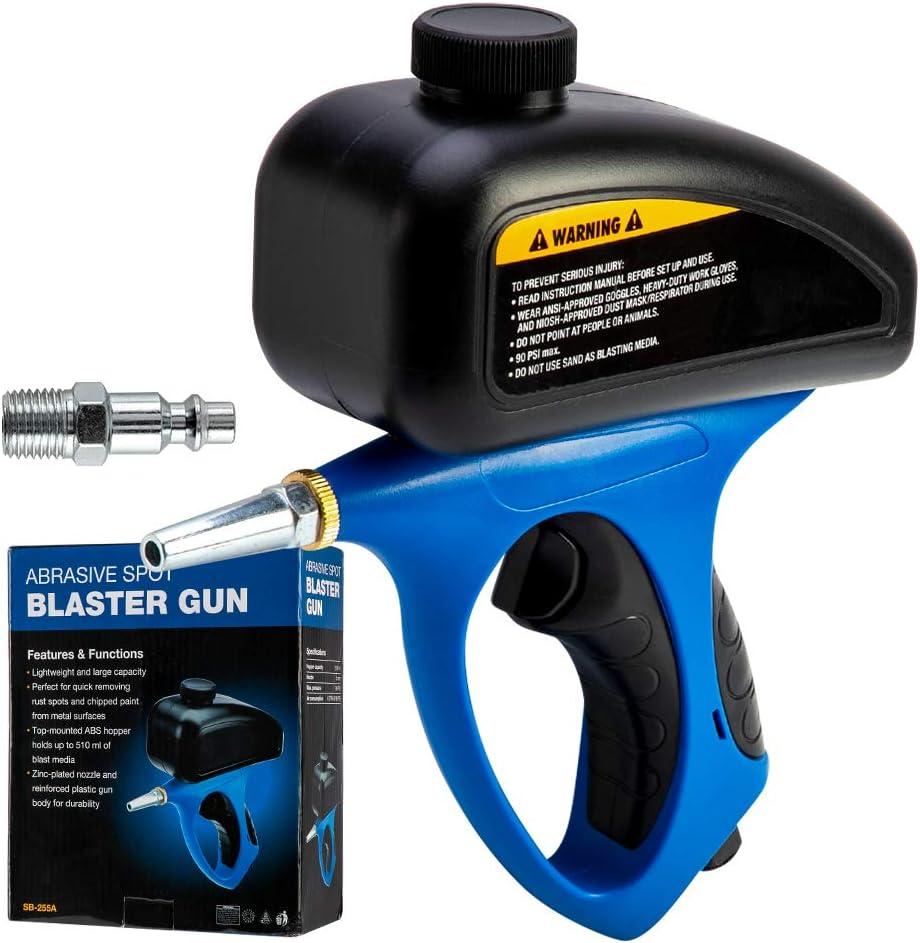 El aire comprimido Sand Blaster Anti-Rust Chorro de arena Sand Blaster Máquina con chorro de arena pequeña boquilla accesorios electrónicos