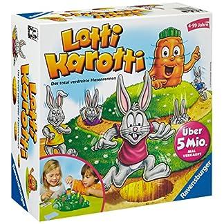 Ravensburger Lotti Karotti, Gesellschafts- und Familienspiel für Kinder und Erwachsene, Partyspiel für Kindergeburtstage, 2-4 Spieler, ab 4 Jahren 8