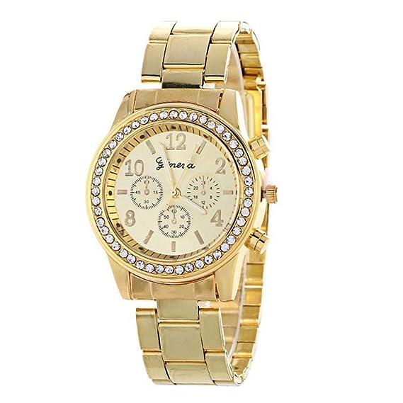 Reloj de Pulsera para Mujer, Esfera pequeña, analógico ...
