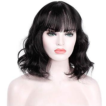 Amazon.com : AISI HAIR Short Wavy Bob Wig