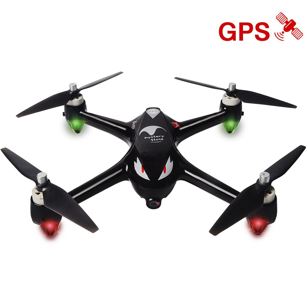 Mystery Stone RC GPS Drone with Camera 1080P HD, MJX Bugs 2 Brushless Quadcopter Drone with Hover, Smart Return System for Beginners Women and Men Taking Photos Videos Black Idea
