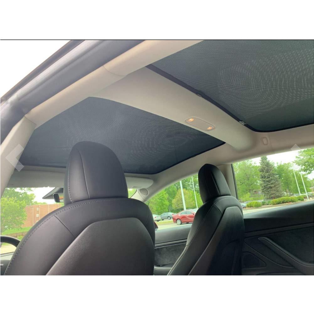 Colore: Nero Protezione UV LFOTPP Parasole per Parabrezza Auto 2 Pezzi Modello 3