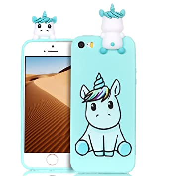 coque licorne silicone iphone 5
