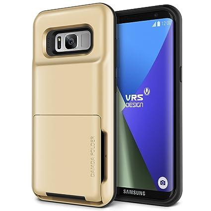 Amazon.com: Samsung Galaxy S8 diseño VRS [damda carpeta ...