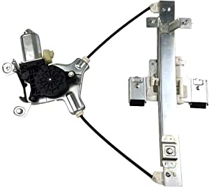 SHOWSEN 741-390 Rear Driver Power Window Regulator W/Motor Fit 07-14 Cadillac Escalade 07-14 Chevy Tahoe 07-14 GMC Yukon