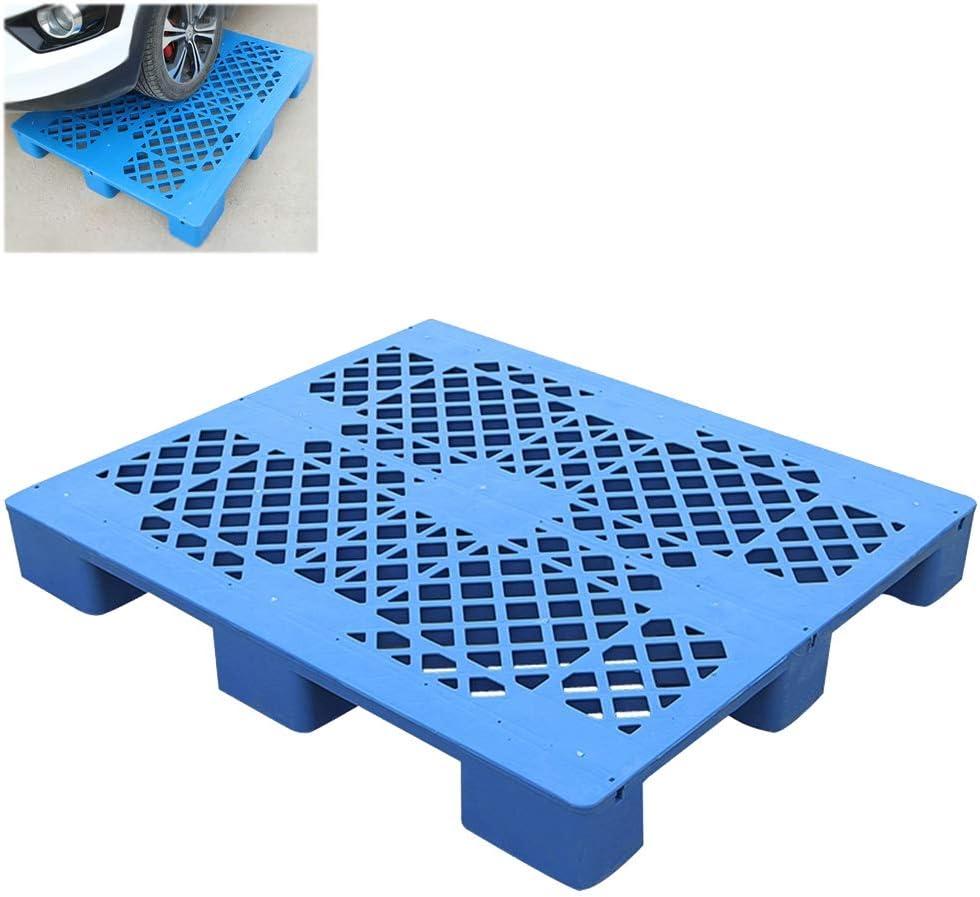 Palets De Plástico Pallet Apilables Con Conos De Plástico Diseño De Estructura En Forma De T HDPE Resistente Al Impacto Diseño De Detalle De Esquina Fuerte Capacidad De Carga Para Supermercados Alma