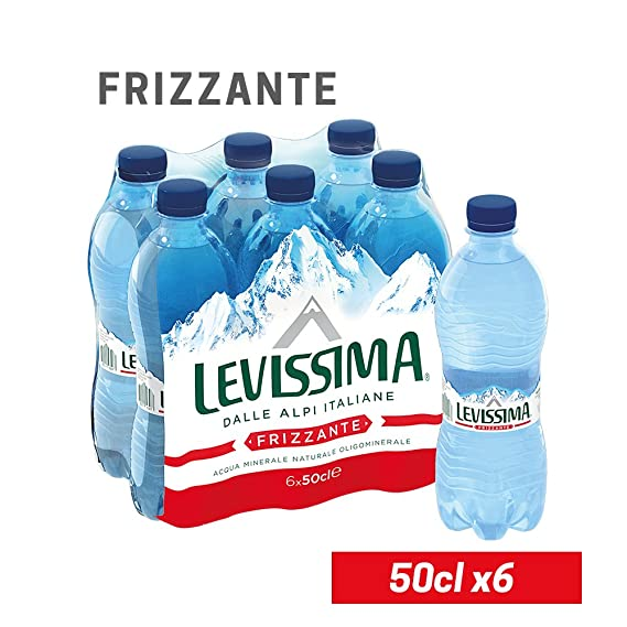 MUY PEQUEÑA Mineral Water Mineral Sparkling Small Bottle 50cl x 6